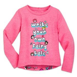 """Disney """"Write Your Own Fairytale"""" Long Sleeve Tee"""